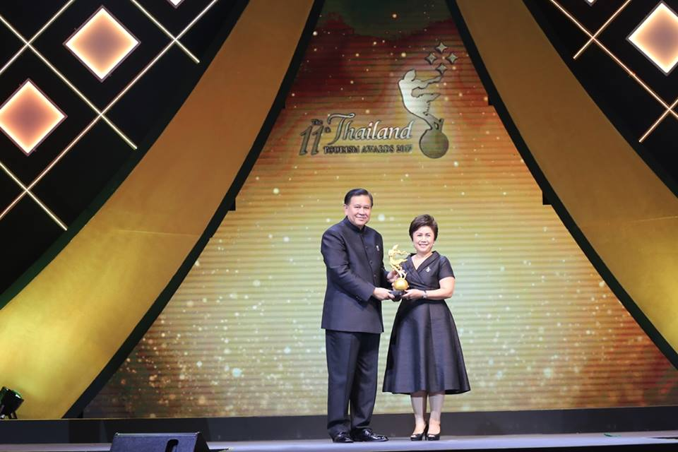 โรงแรมรติล้านนาฯ รับรางวัลยอดเยี่ยม มาตราฐานอุตสาหกรรมท่องเที่ยวไทย