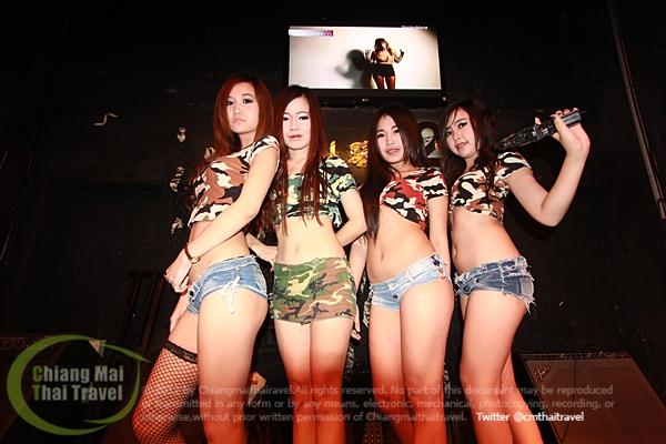 เก็บตกภาพและวิดีโอ บรรยากาศงาน Army Party ที่ร้านบางแสน2เชียงใหม่