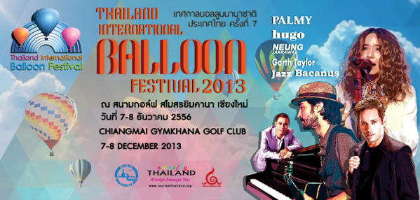 Thailand International Balloon Festival 2013