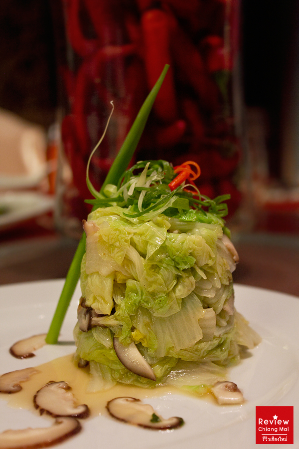 cabbage with sasemi sauce